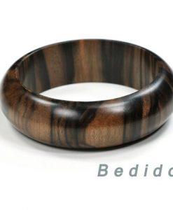 Ebony Tiger Wood Bangles