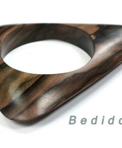 Triangle Wood Bangle