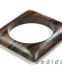Square Ebony Kamagong Tiger Wood Bangles