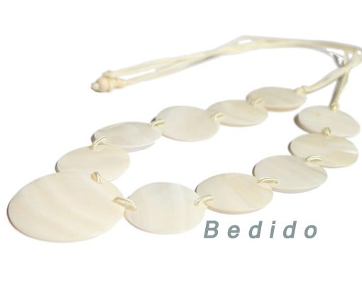 Kabibe Shell Necklace