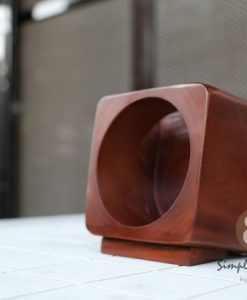 passive wooden speaker iphone